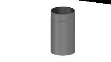 rauchrohr 330mm l ngenelement 200 mm grau. Black Bedroom Furniture Sets. Home Design Ideas