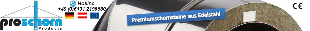 Proschorn® - Edelstahlschornsteine
